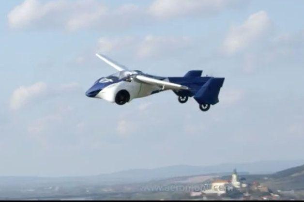 Video: AeroMobil 3.0 flying car appears to work- Štefan Klein Slovakia