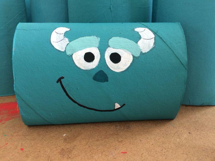 Sullivan / Monsters Inc / toilet paper roll