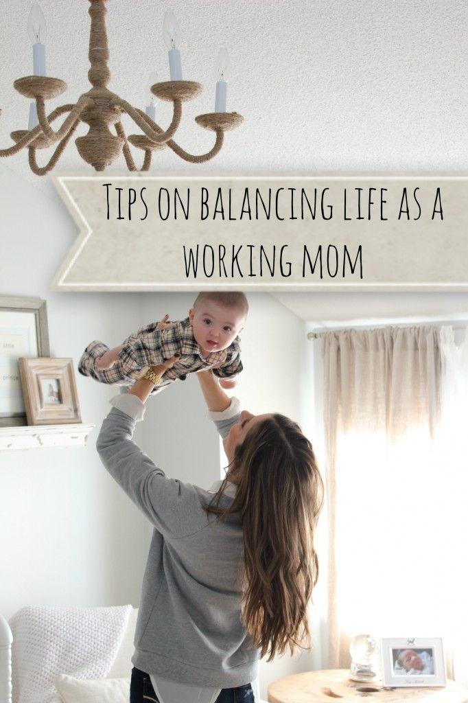 Tips on Balancing Life as a Working Mom