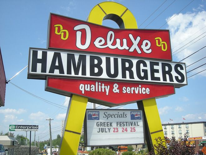 Deluxe hamburgers, Sudbury I love this place brings back lots of memories