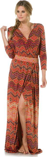 LAMADE DIAMOND AZTEC MAXI DRESS > Womens > Clothing > Dresses | Swell.com