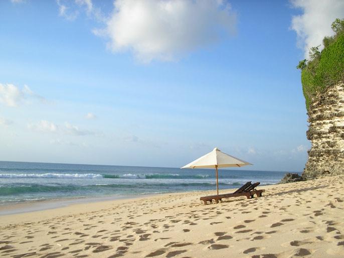 Pantai Impian di Pantai Dreamland Bali   Wisata Indonesia