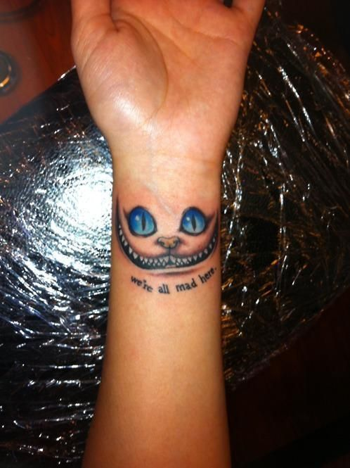 Cool tattoo, wouldn't get it on my wrist but its what I would like.
