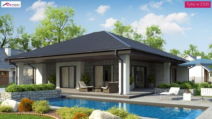 Z279 to wyjątkowy dom z kategorii projekty domów parterowych