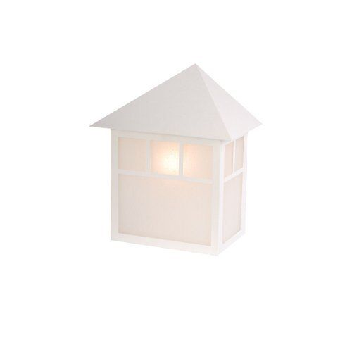 Acclaim Lighting 4702TW Artisan Outdoor Sconce, Textured White by Acclaim. $39.89. Finish:Textured White, Glass:Frost Seeded, Light Bulb:(1)100w A19 Med F Incand Artisan outdoor wall sconce.