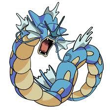 Gyarados evolution of magikarp