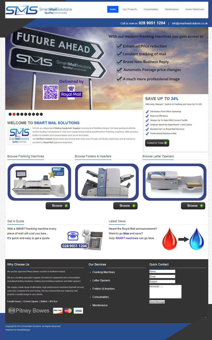 Smart Mail Solutions - three60design Banbridge Northern Ireland - Web Design