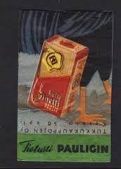 Tulitikkuetiketti - 1950 luku Paulig, Kulta-Sinetti kahvia