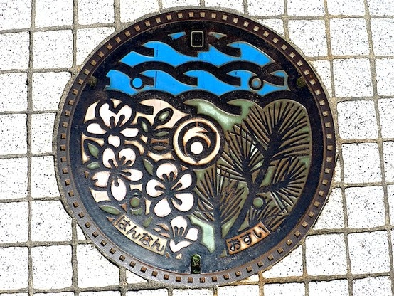 art design | street design | manhole cover | japan | hannan osaka