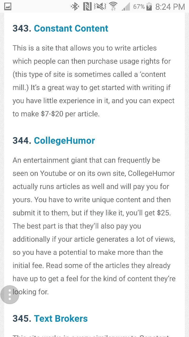 Pin by Sunnymama on Job Ideas  Article writing, Writing, Job
