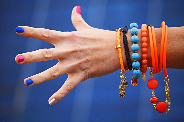 Różnorodne, kolorowe, modne bransoletki w różnych stylach znajdziesz na www.gleam.pl