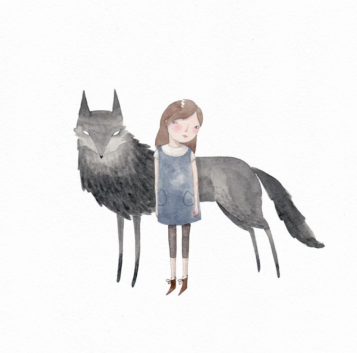 Julianna Swaney | wolf & girl 1 |                                                                                                                                                      More