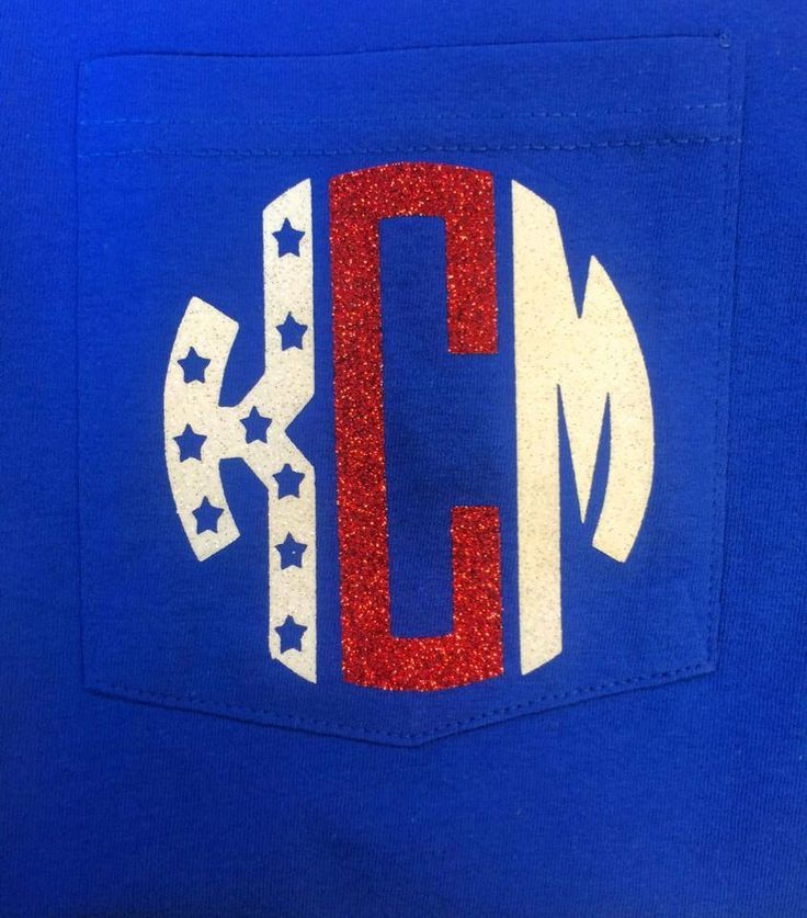Monogram 4th of July Pocket Tee by TheCrazyDaisyStore on Etsy https://www.etsy.com/listing/192804834/monogram-4th-of-july-pocket-tee