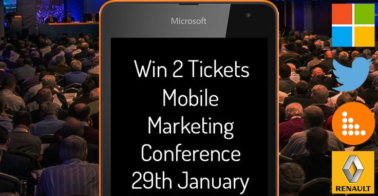 Win Two VIP Tickets Mobile Marketing Conference, + More