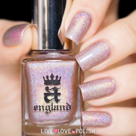 A-England Her Rose Adagio Nail Polish (Ballerina Collection) | Live Love Polish
