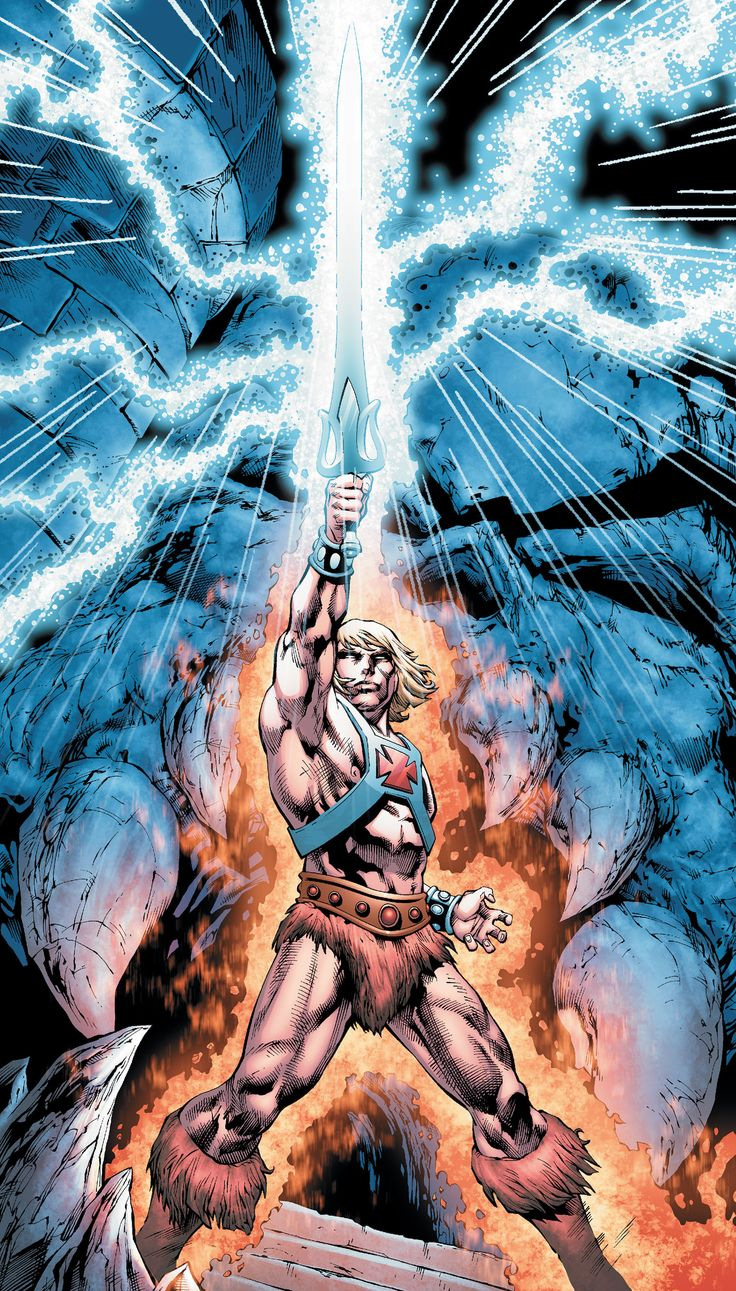 HE-MAN AND THE MASTERS OF THE UNIVERSE #1 - He-Man returns to comics in an all-new miniseries!  SKELETOR strikes with his master plan to rule ETERNIA!  Can ADAM and the MASTERS OF THE UNIVERSE remember what ETERNIA was like in time to save it?