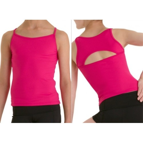 Bloch Stevanne, Girls' top  Girls' camisole top.  Fabric: microlux 88% nylon, 12% spandex  Colors:Hot pink, Red, Purple, Black  Price: 17.80€