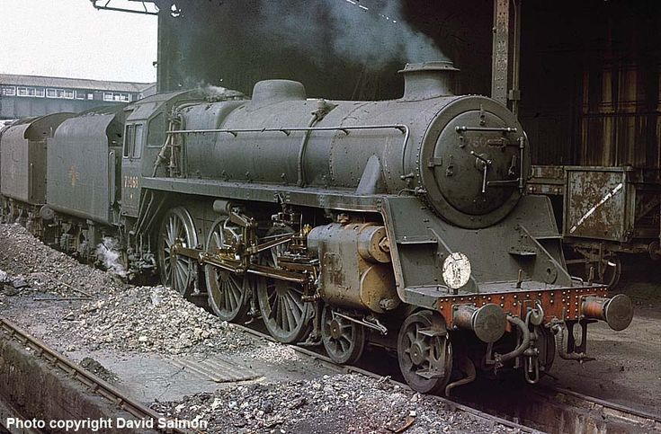 BR Standard Class 4MT 75068 waits to be coaled at Guildford on 21st May 1967. Introduced in 1951