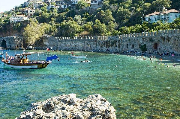 Alanya coast, Turkey