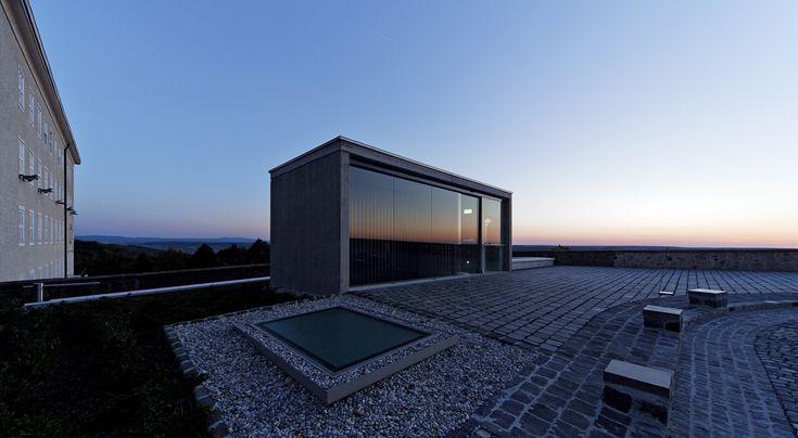 Gallery of New Visitor Entrance, Benedictine Archabbey Of Pannonhalma / CZITA Architects - 5