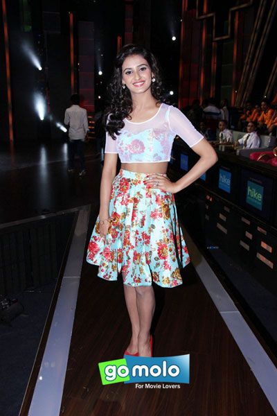 Shakti Mohan at the Promotion of Hindi movie 'Welcome Back' on the sets of TV reality show 'Dance+' in Mumbai