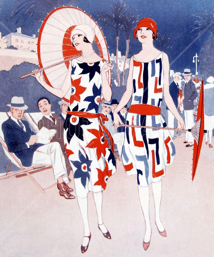 Ladies Promenading along a Sea Front, Wilton Williams – Bilder auf Leinwand – Photowall