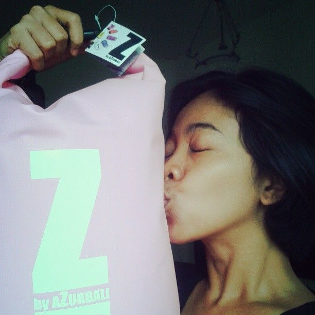 How much i love my new #pink #azurbali #drybags