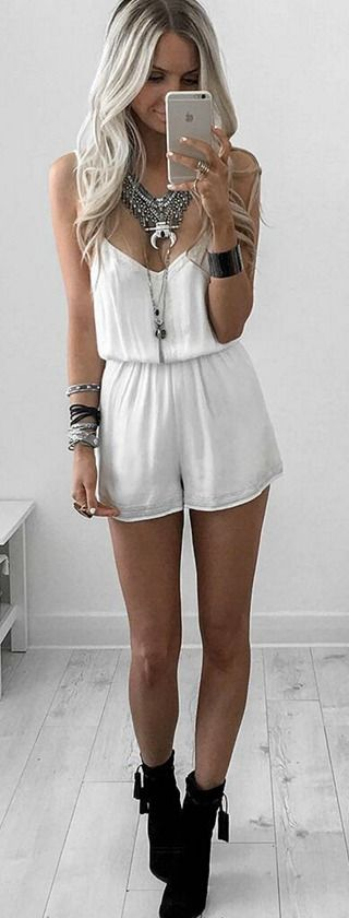 Dear Stitch Fix Stylist - I would like to try rompers... But I don't want really fitted ones I think I would like the ones that are flowy kind of like this one.