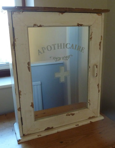 shabby chic bathroom cabinet with mirror 21 best aid cabinets images on armoire 25729