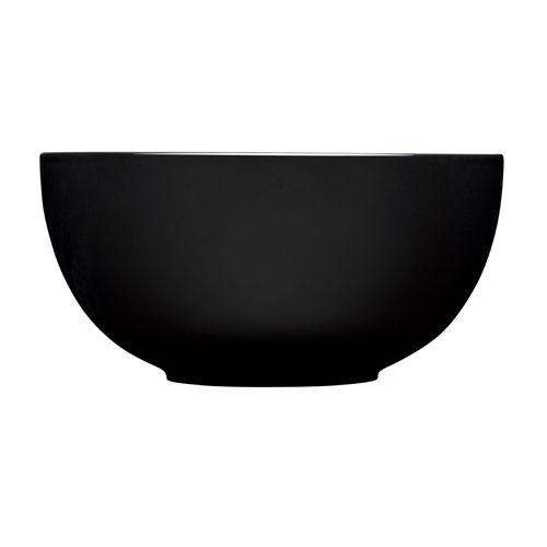 iittala Teema Curved Black Serving Bowls $90.00