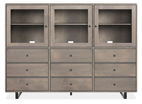 whitney storage cabinets - stella sofa room - living - room