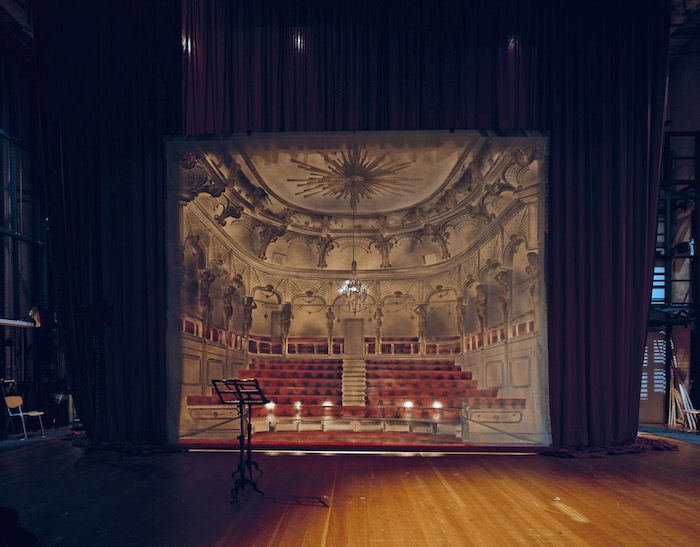 Klaus Frahm Takes Photos Of Theaters From The Stage | iGNANT.de
