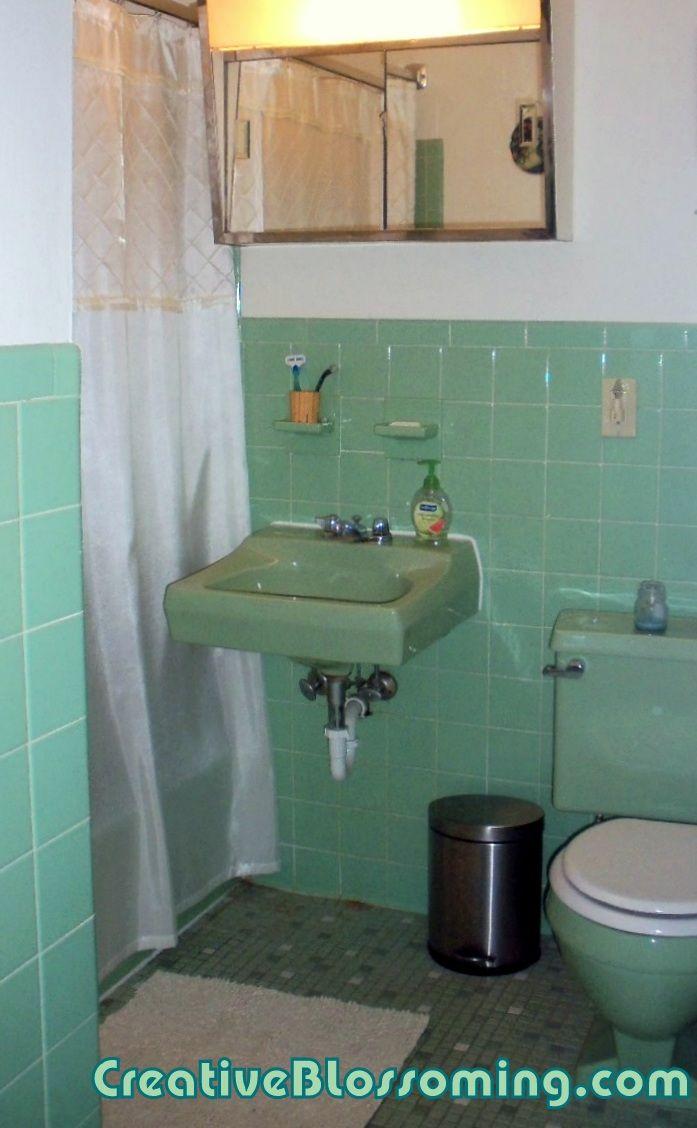 218 best Green - Bathroom.. images on Pinterest ...