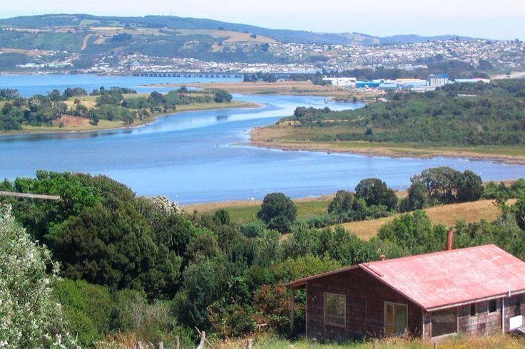 Río Pudeto, Ancud, Chiloé