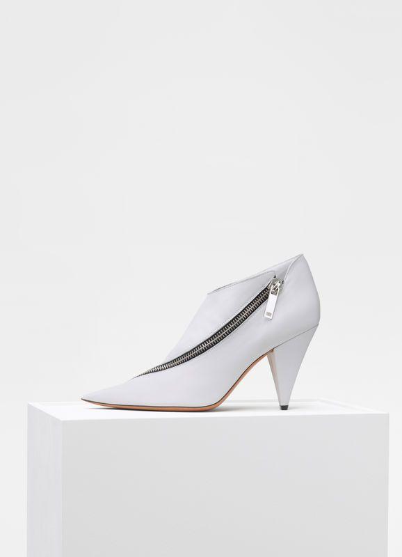 2d21073d781de Zipped ankle boot in nappa lambskin   CÉLINE   Celine Shoes   Shoes ...
