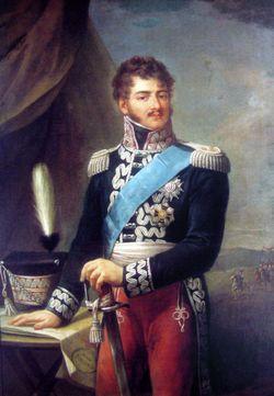 Józef Antoni Poniatowski, né à Varsovie le 7 mai 1763, mort à Leipzig le 19 octobre 1813, est un militaire polonais du XIXe siècle. Fils du frère du roi Stanislas II de Pologne et prince du Saint-Empire romain germanique par sa naissance, il intègre l'armée autrichienne où il sert jusqu'au grade de colonel. Rejoignant la Pologne en 1789, il prend le commandement des troupes polonaises en Ukraine avec lesquelles il affronte les Russes.