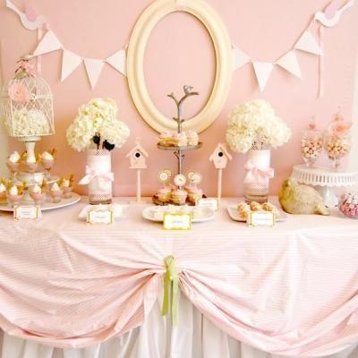 baby girl shower decorationsShower Ideas, Baby Baby, Baby Boys, Shower Decor, Pink Baby Shower, Parties Ideas, Baby Girls, Girls Shower, Desserts Tables