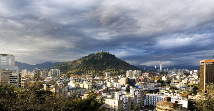 San Cristobal hill, Santiago de Chile.
