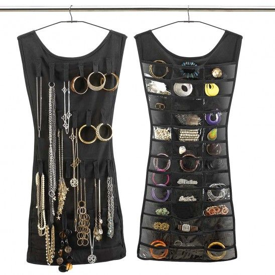 Little Black Dress Hanging Jewelry Organizer by Umbra®
