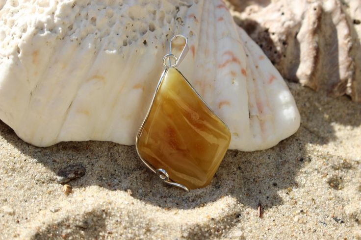 Handmade Baltic Amber Pendant-Poland by MagsAmber on Etsy