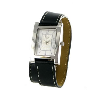 montre double tour en cuir noir mck paris retrouver chez montres femme. Black Bedroom Furniture Sets. Home Design Ideas