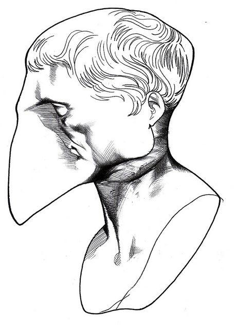 Júlio César - in Alfabeto Literário (Cassio Loredano)