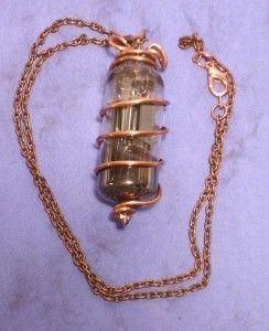 vacuum tube necklace accessories jewelry pinterest
