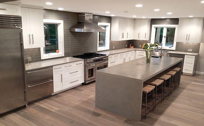 Best 25 Waterfall Countertop Ideas On Pinterest Marble Kitchen Ideas Marble Kitchen Diy And