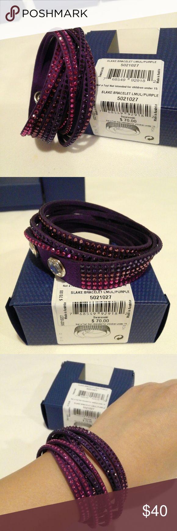💕 Swarovski Slake: Bracelet LMUL/Purple. 5021027 New! Swarovski Slake: Bracelet LMUL/Purple. 5021027 🚫NO trade 🚫 Thanks for looking ❤ Swarovski  Jewelry Bracelets