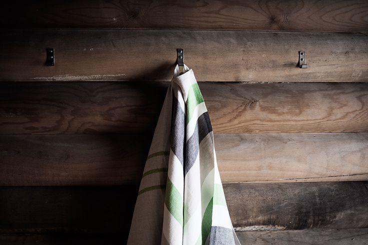 USVA and SARASTUS towels. Made in Finland by Lapuan Kankurit.