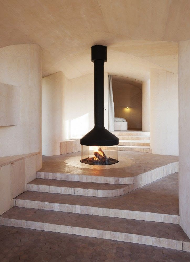 Atelier Drome: Fireplaces and Holidays