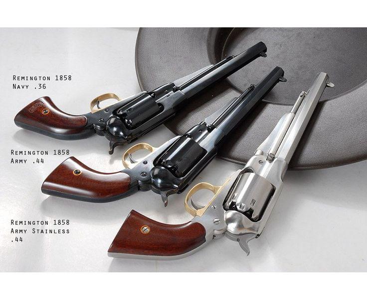 300.233 Remington New Army 1858 Stainless, kal.44, Rewolwer czarnoprochowy w wolnej sprzedaży wg. ustawy 2011 | b. Rewolwery rama zamknięta | HEGE Jagd & Sport