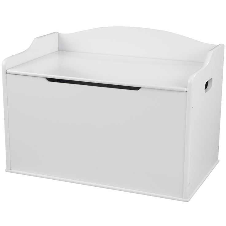 Pour ranger tous ses jouets mais aussi pour s'asseoir ou accueillir des peluches, le coffre à jouet blanc par Kidkraft est le coffre idéal pour les enfants.