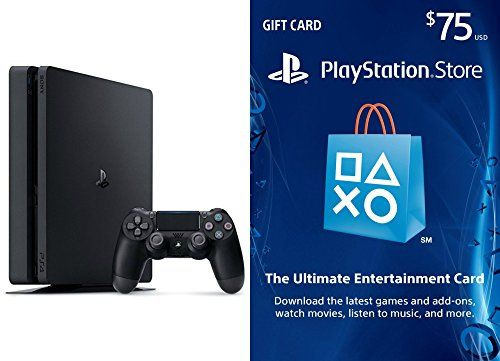 farcry5gamer.comPlayStation 4 Slim 500GB Console - $75 PlayStation Store Gift Card Bundle Price:     The new slim PlayStation 4 opens the door to extraordinary journeys through immersive new gaming worlds and a deeply connected gaming community. Greatness Awaits  Download the latest games and add-ons: Discover and download tons of great PS4, PS3, and PS Vita games and DLC content to givehttp://farcry5gamer.com/playstation-4-slim-500gb-console-75-playstation-store-gift-card-bu